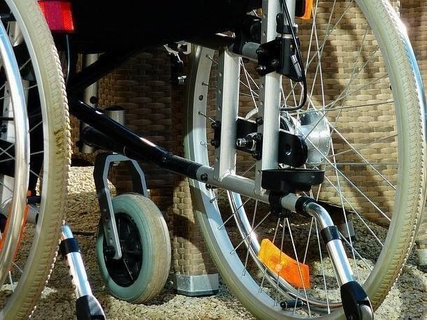 rolstoel en Blijvend letsel na verkeersongeval
