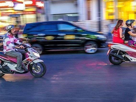 Aangereden door scooter of brommer