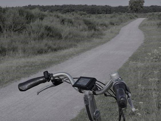 elektrische fiets aangereden