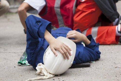 vallen ongeval op werk