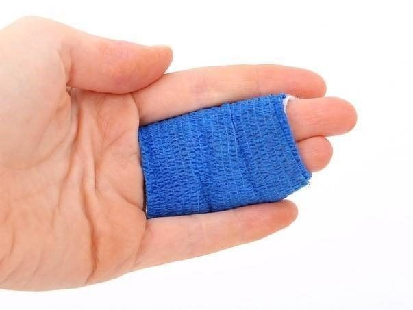 hand in verband letselschade