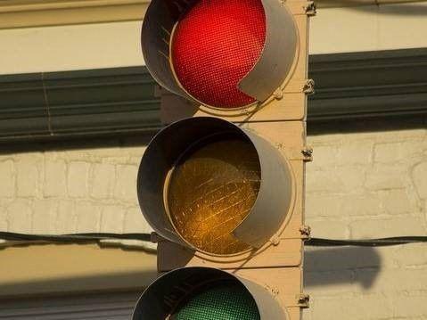 stoplicht aanrijding
