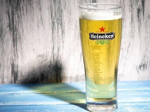 bier en gladde vloer