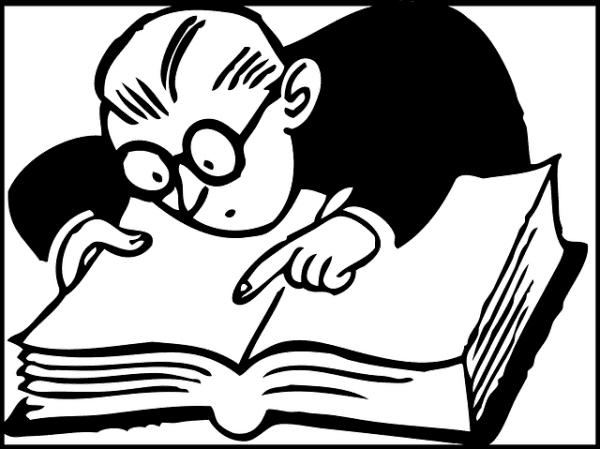 Aansprakelijkheidsbrief schrijven kijken in een boek