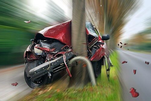 zelfrijdende auto ongeluk