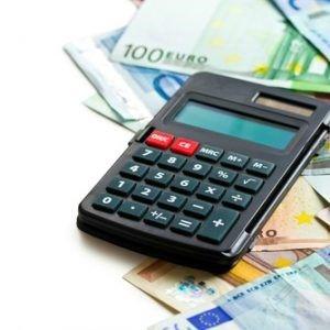 rekenmachine met geld