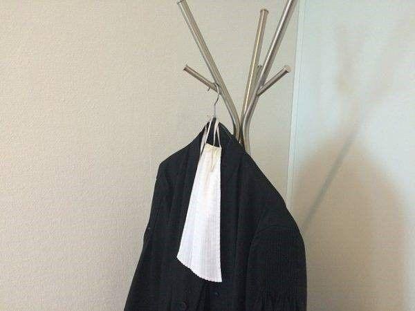 Toga, en een advocat kiezen bij letselschade