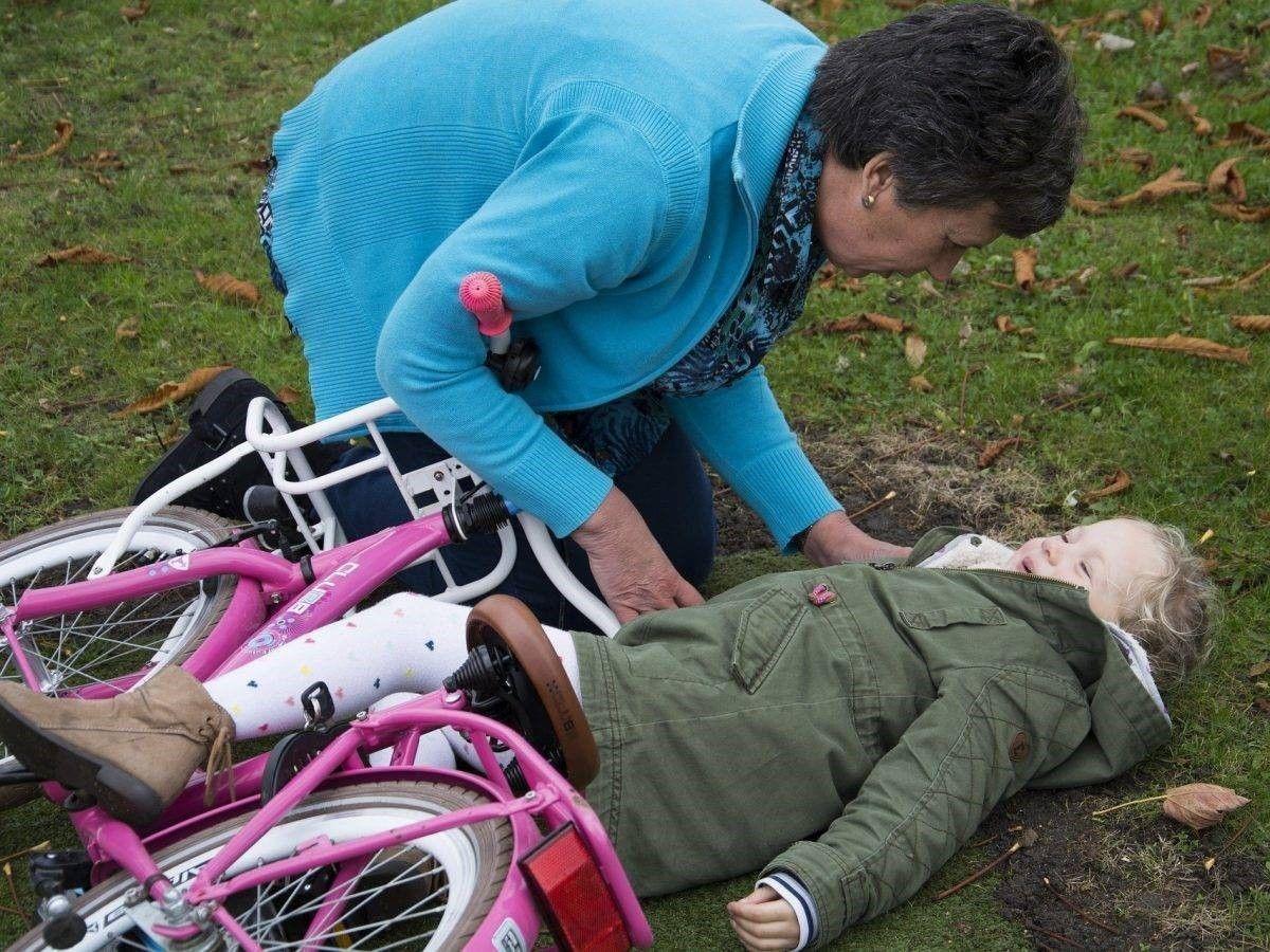 kind valt van fiets, letselschade bij kinderen