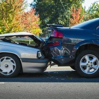 achterop aanrijding ongeval