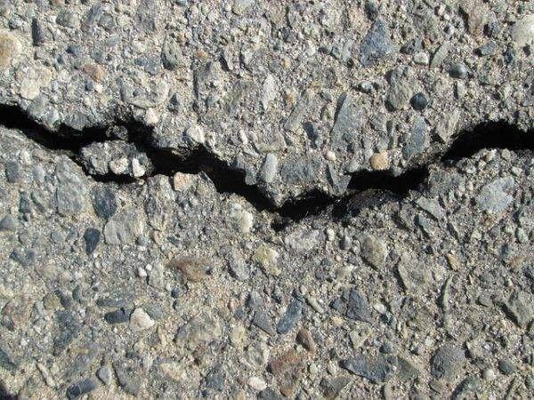 Breuk in steen. slachtoffers Groningse aardbeving