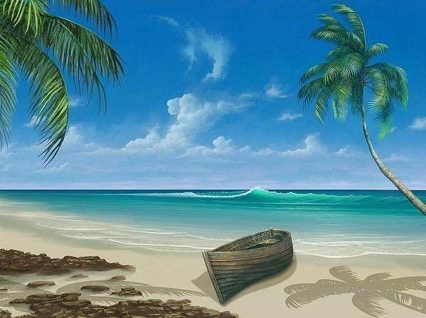 zee, palmbomen en ongeluk op vakantie