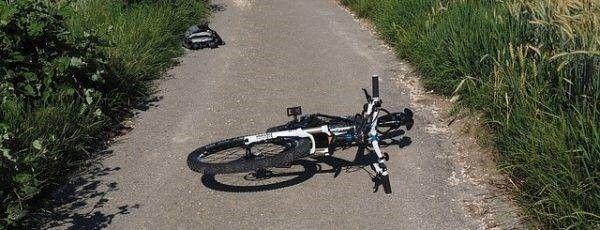 fiets gevallen ongeluk