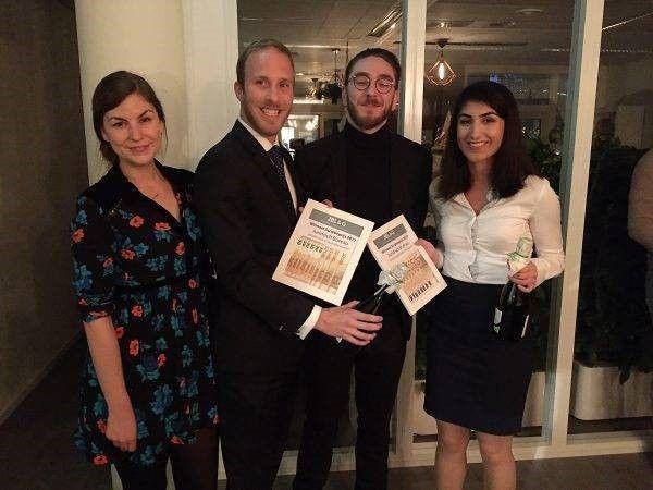 de winnaars van de scriptieprijs 2017