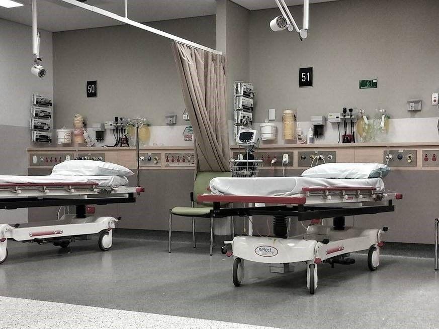 legionella ziekenhuisbed