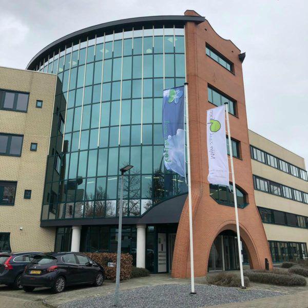 Hoofdingang letselschadekantoor JBL&G Oost in Deventer.